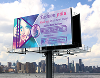 """Fashion Beauty Banners"" Style up in a new way"