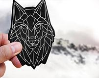 WOLF PACK branding