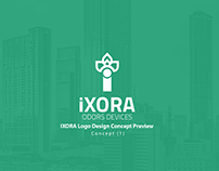 iXORA Logo Design Concept (1)