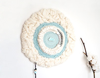 Silky Moon, round weaving