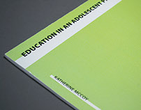 Education in an Adolescent Profession