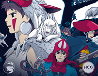 PRINCESS MONONOKE - Ashitaka's Journey