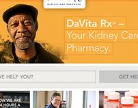 Digital | DaVita Rx – Website Concepts
