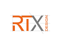RTX design, business card