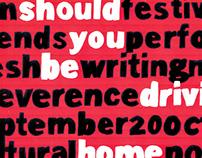 Fringe Festival TAC Poster
