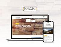 MAK Company Website | موقع شركة ماك