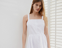 Classic white embroidery collection - for Oysho