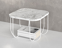 Free 3d model / Fuwl Cage Table by Menu