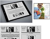 AB Photos & Graphics Website Layout