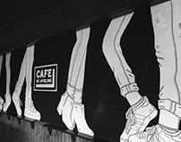 Mural Café de Afdeling