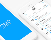 PMD mobile app.. UX & UI