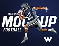 NFL Football Mockups - PSDs + 10 Sports Design Tips