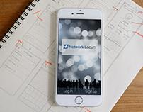 Network Locum Mobile App Design Concept