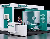 Stand exhibition for Nordkalk