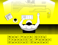 New York City Transit's Power Control Center (GIF)