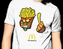 T-shirt's Illustrations 2016