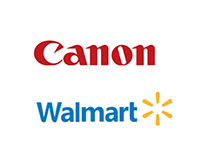 Walmart, Canon - UI / Visual Design