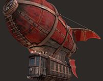 Airship Scarlet Sails