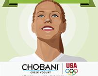 Chobani: 2012 Olympics Infographic