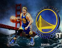 Stephen Curry - NBA Digital Illustrations