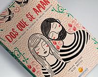 """""""Dos que se aman"""" Diseño de portada"""