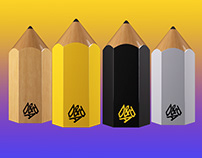 Animated 3D pencils for D&AD Awards 2019