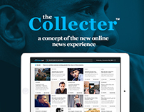 The Collector | New Online News Experience