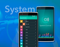 System Control mobile app