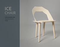 ICE Chair - A flat pack-able task chair