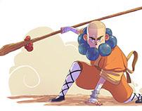 Shaolin character design