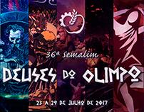 36ª Semalim - Deuses do Olimpo