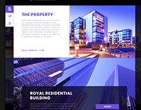 INVEST CORPORATION - Website Concept Design