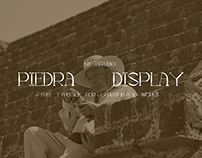 PIEDRA (FREE FONT)