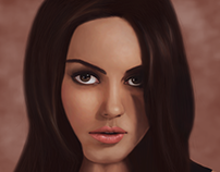Mila Kunis - Digital Illustration
