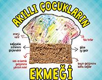 Doygun Ekmek Magazine Adv. Design