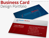 Business Card Design Portfolio | Swan Media Productions