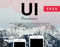 Free PSD Mockups for UI/UX  Presentation