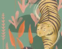 TIGER TIGER ILLUSTRATION