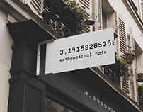 Branding for mathematical cafe П=3,14