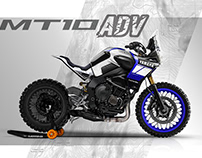 Yamaha MT-10 Adventure concept