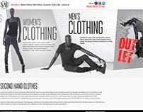 UI/UX Clothing e-Commerce