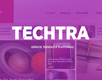 Wordpress Blog Theme - Techtra.org