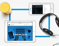 E-Werkzeug – Corporate Branding