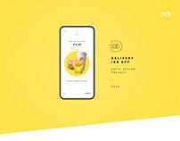 D Burger - UX/UI Design Delivery App