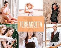 Free Terracotta Mobile & Desktop Lightroom Presets