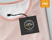 Free and Amazing Label Tag Mockup