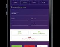 FOREX Trading Mobile App Mock-ups