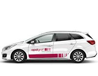 Opolgraf / car branding
