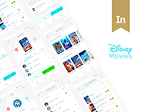 Disney Movies Anywhere - Mobile App Design