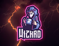 Wizardisk Sport and Esports Logo